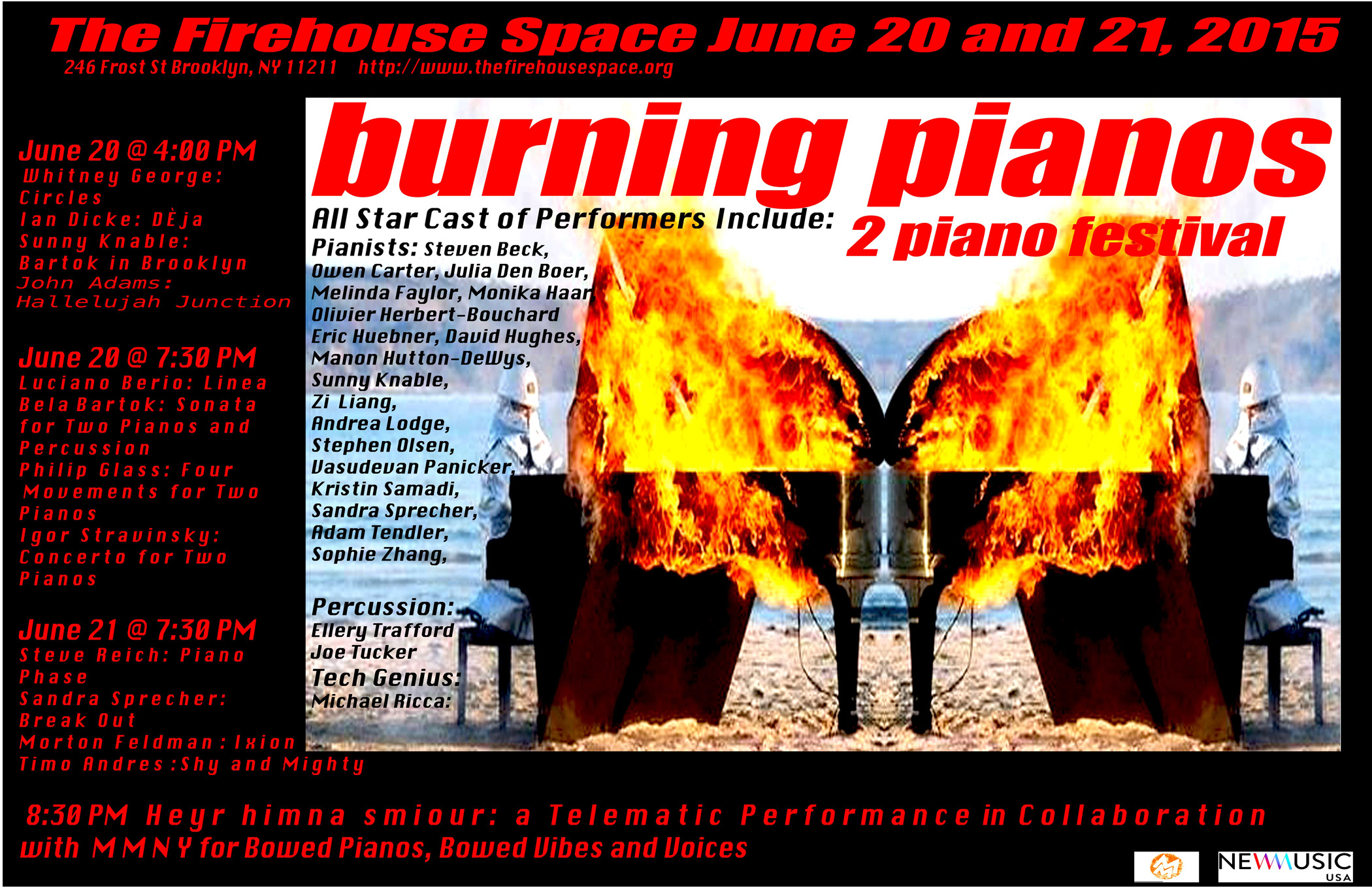 BURNING PIANO FESTIVAL for WS