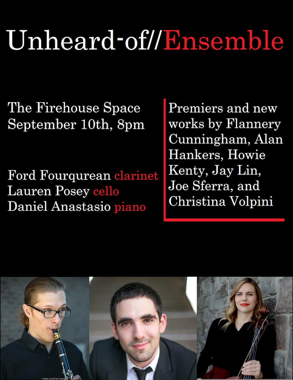 Unheard-of Firehouse poster